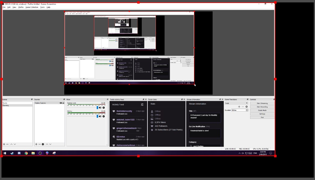 How to Stream on Twitch with OBS - RelativityRabbit